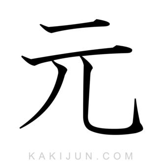 「元」を含む四字熟語