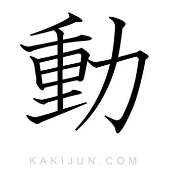 「動」を含む四字熟語