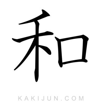 「和」を含む四字熟語