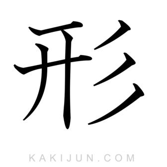 「形」を含む四字熟語