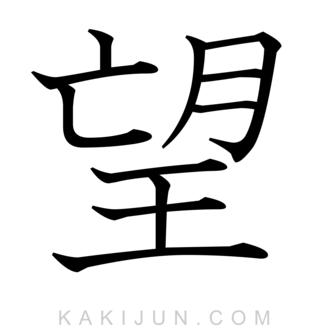 「望」を含む四字熟語
