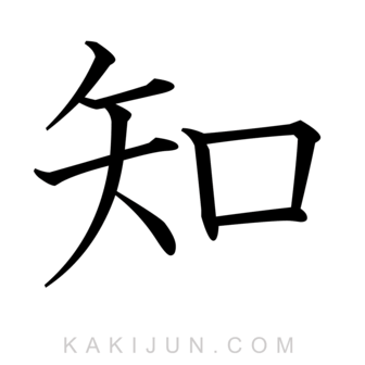 「知」を含む四字熟語