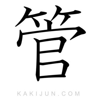 「管」を含む四字熟語