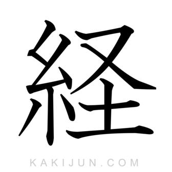 「経」を含む四字熟語