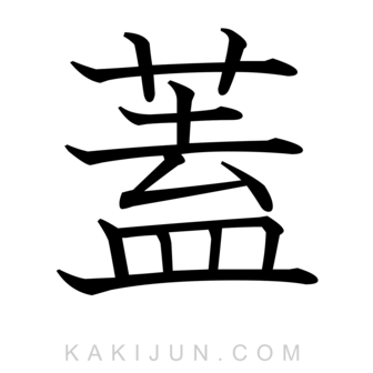 「蓋」を含む四字熟語