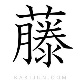 「藤」を含む熟語・用語・名詞など