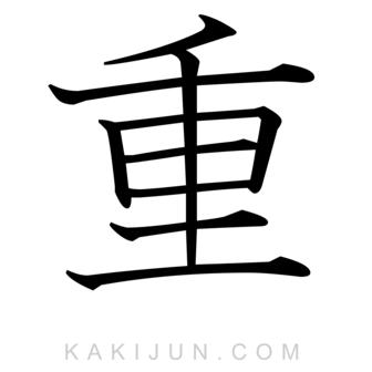 「重」を含む四字熟語